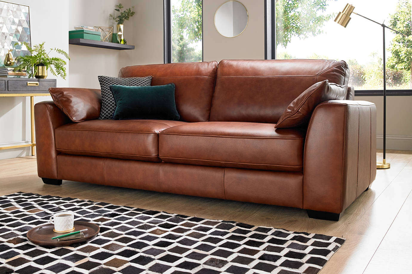 Picture of: Sofa Beds Leather And Fabric Sofology