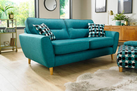 Finest Saved With Turquoise Sofa.