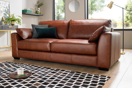 Sofa beds | Leather and Fabric | Sofology