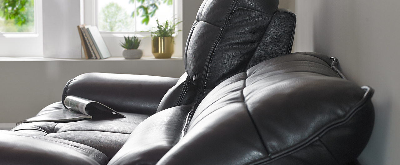 Sofa reclining 10cm from the wall