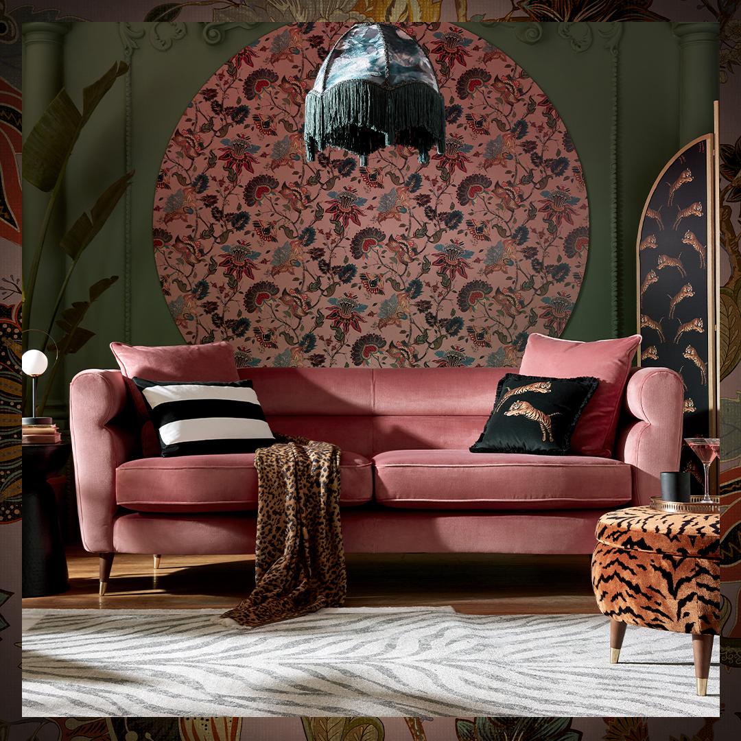 Offbeat Chesterfield Sofa