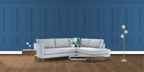 Retro Revival Living Room