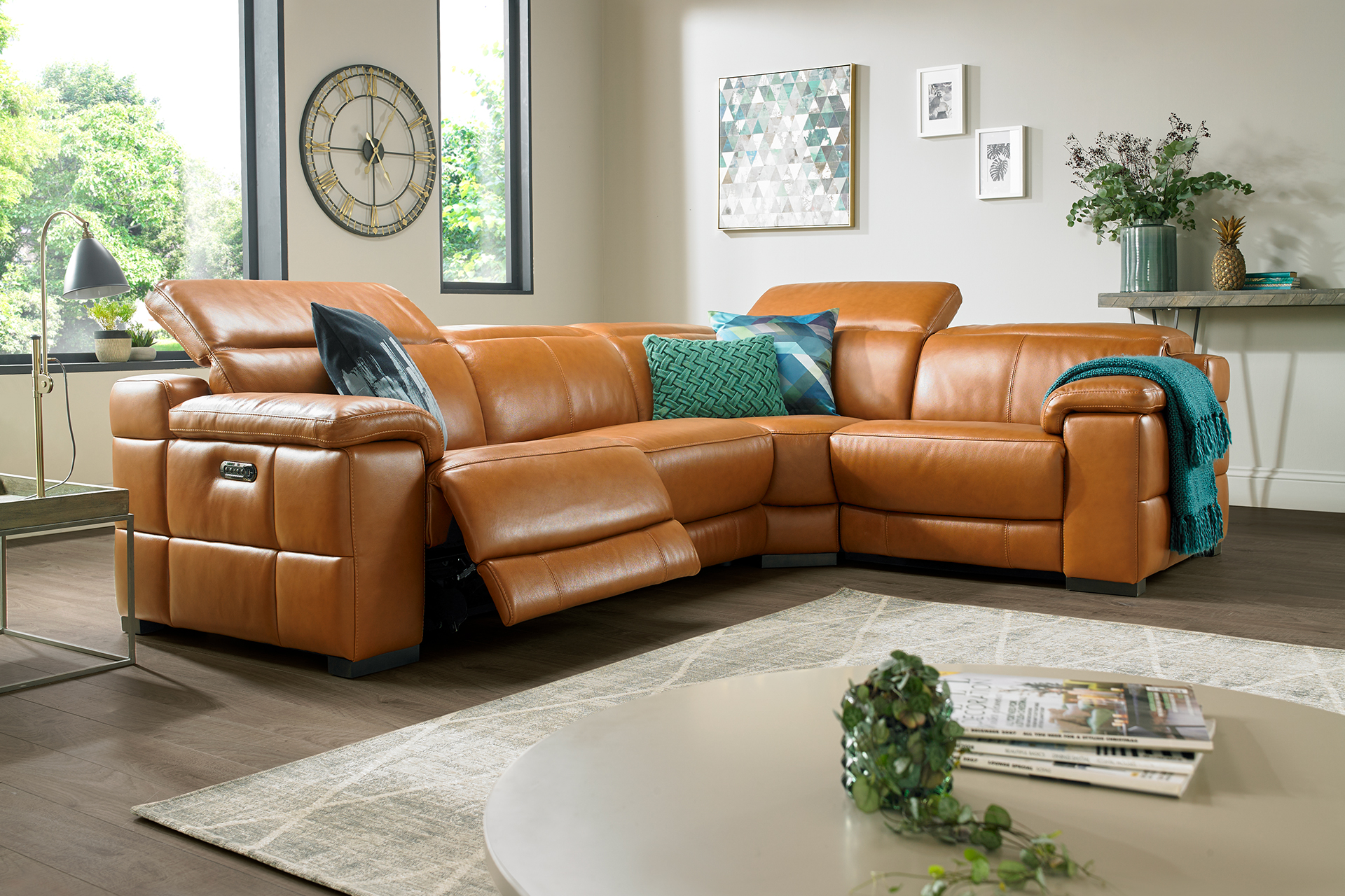 Sofa with Battery Power