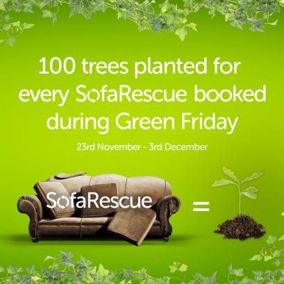 Green Friday Sofa Rescue Plan Tree