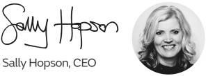 Sally Hopson Signature