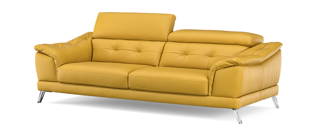 yellow leather sofas uk