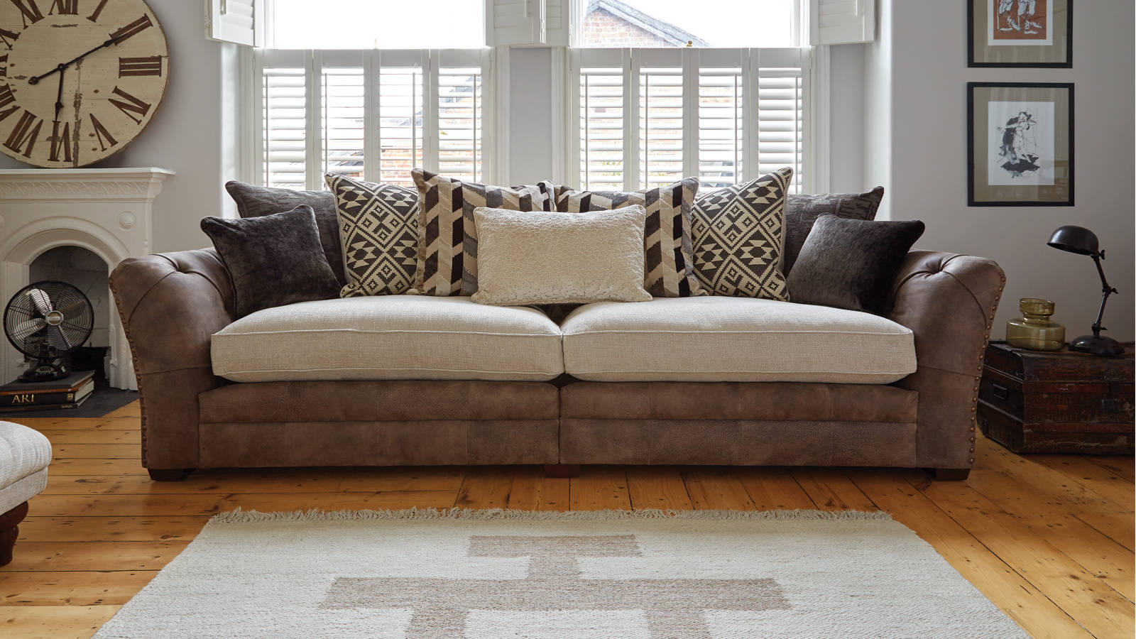 The Magnificent Split 4 Seater Sofa Can Be Taken Apart For Total Ease Of  Access So You Can Feel At Home On The Paloma Sofa You Love.