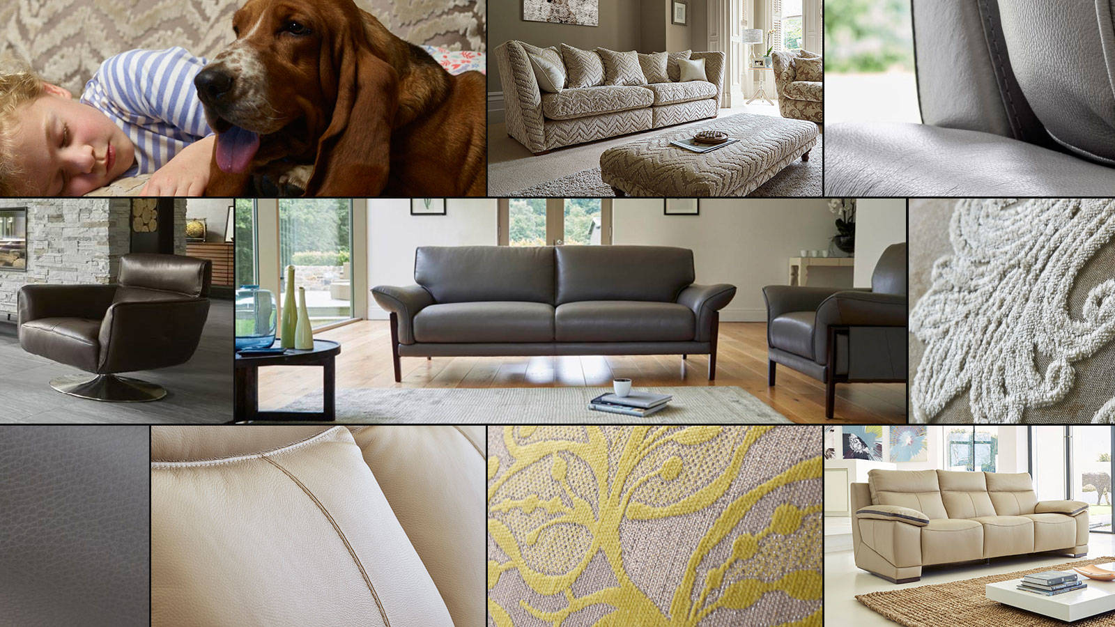Design & Comfort Collection mood-board