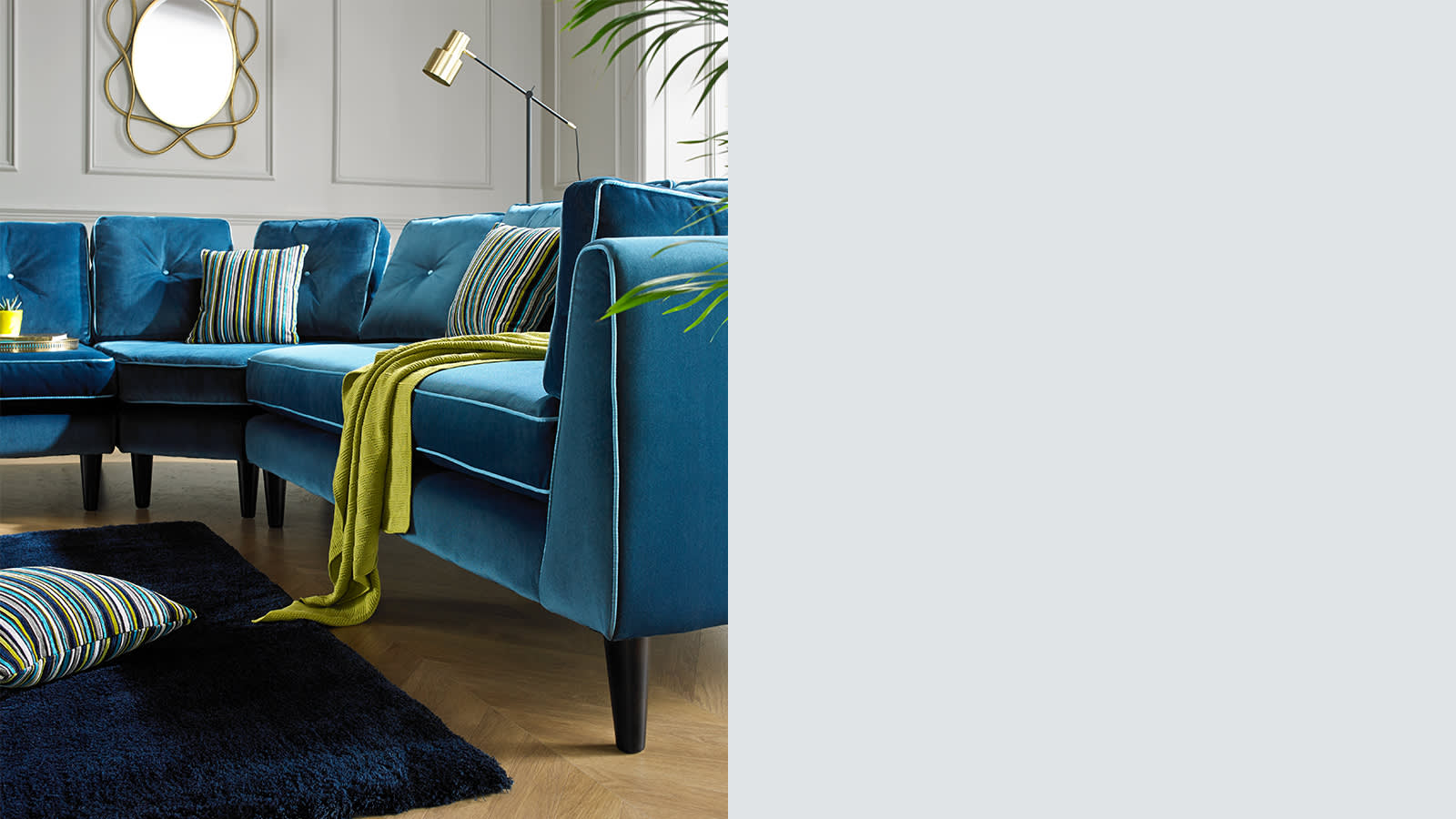 Corner sofas in leather fabric sofology make your own modular or corner sofa parisarafo Image collections