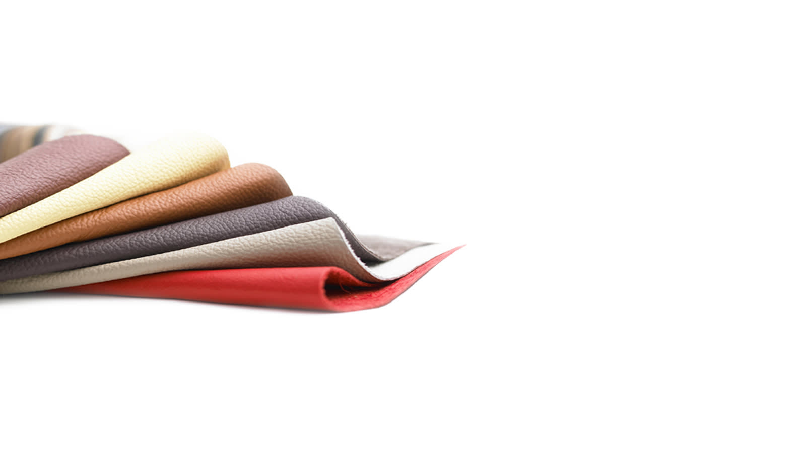 Soft natural leather in a range of colours