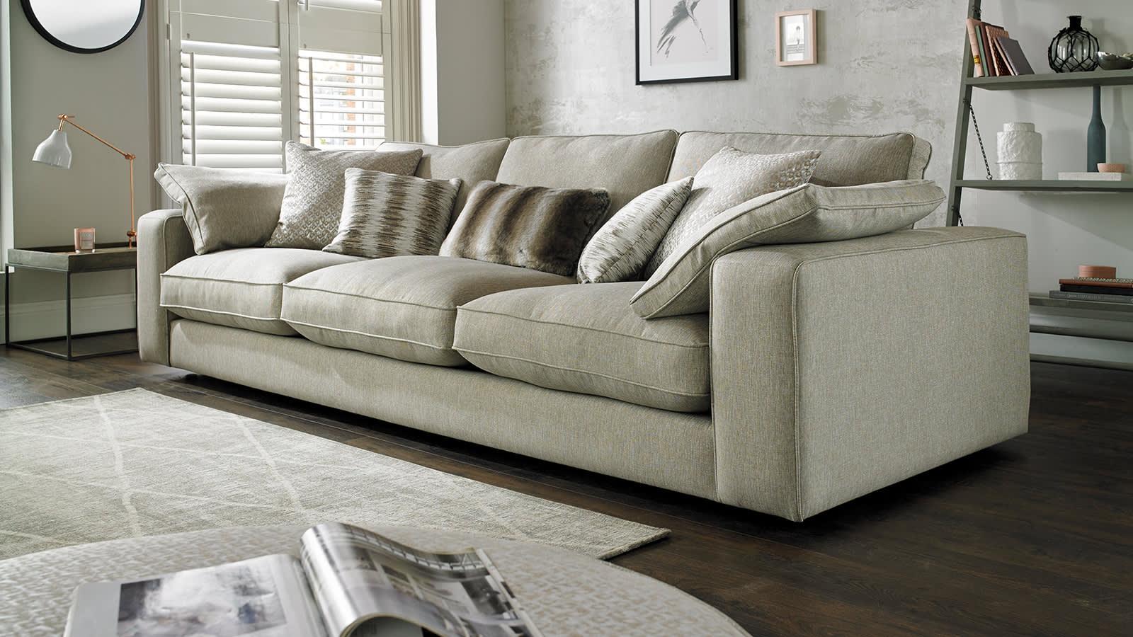 Beige fabric Autograph sofa