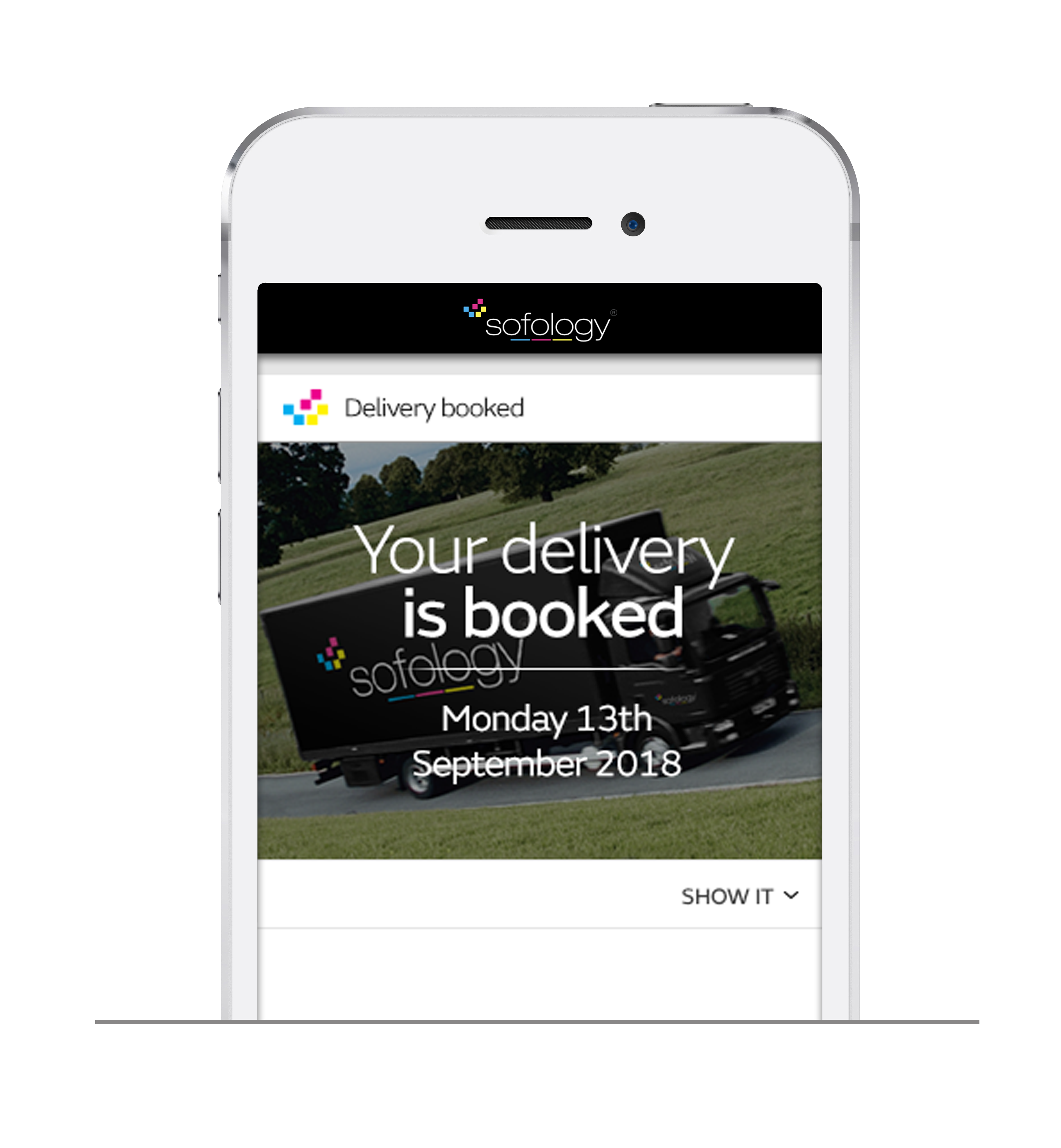 you can book delivery