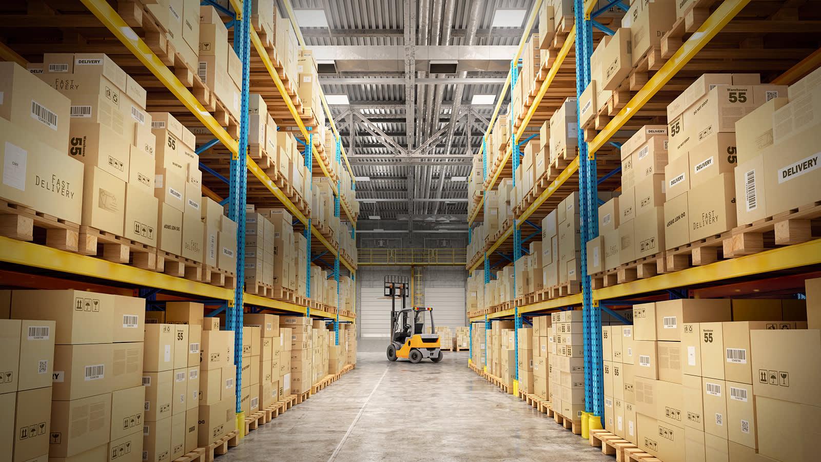 A warehouse