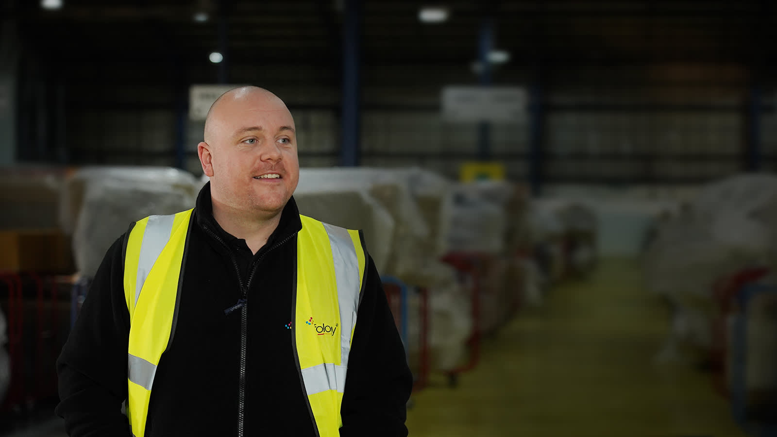 Chris, Warehouse Manager of Golborne Depot