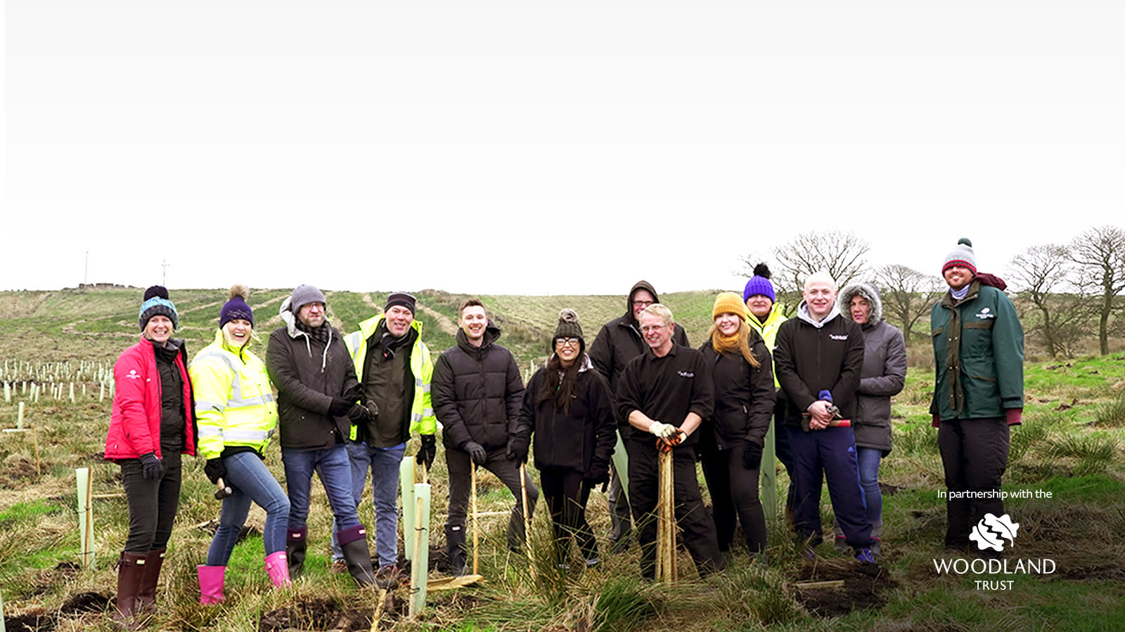 Planting Trees with the Woodland Trust