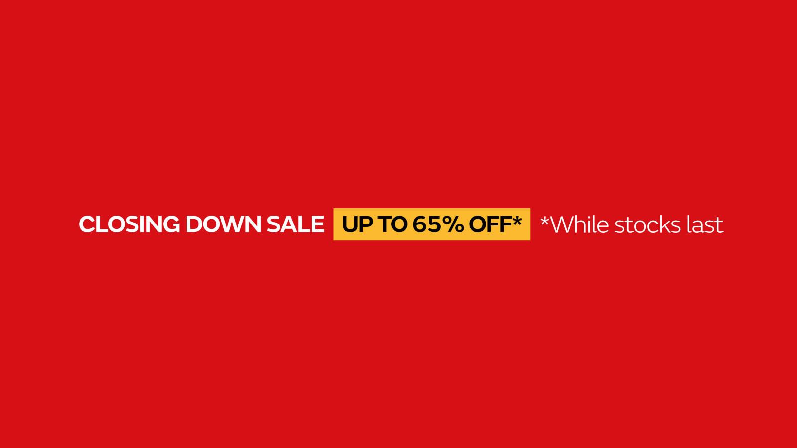 Sofology Southprt Closing Down Sale