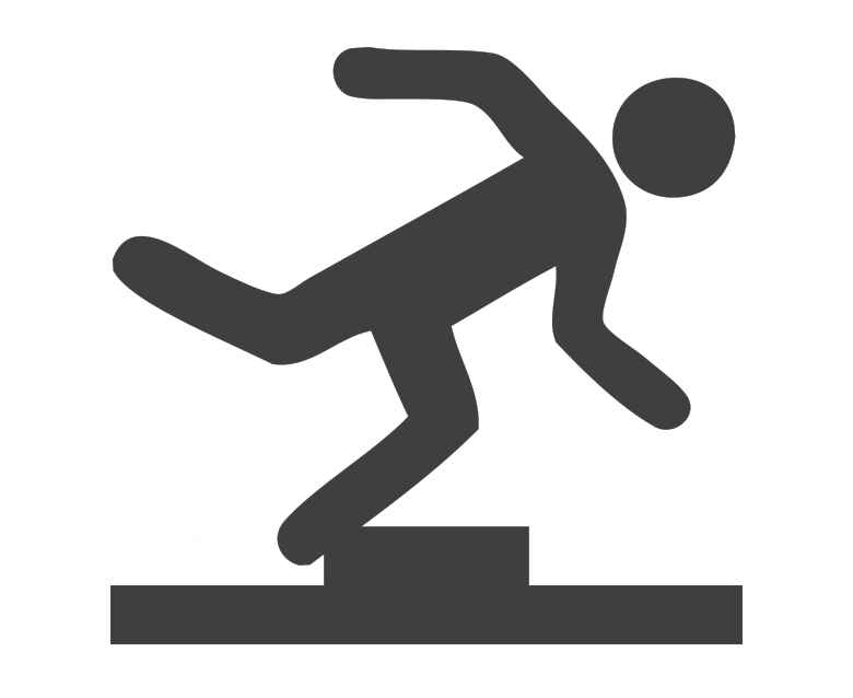 Slip and Trip Icon