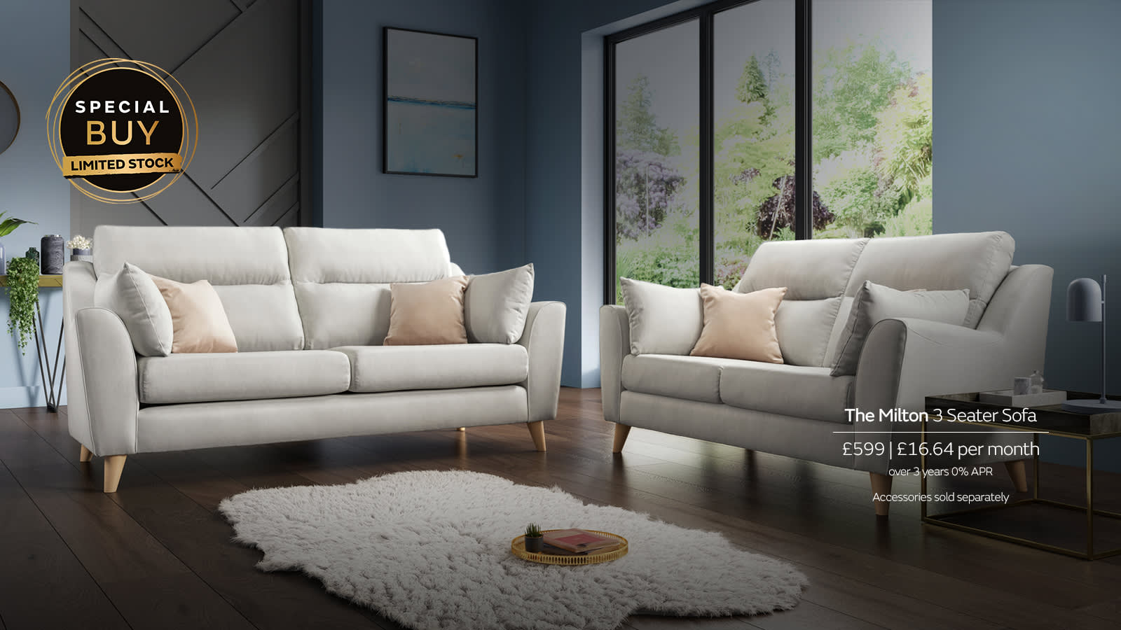 Sofology Special Buy Sofa Milton