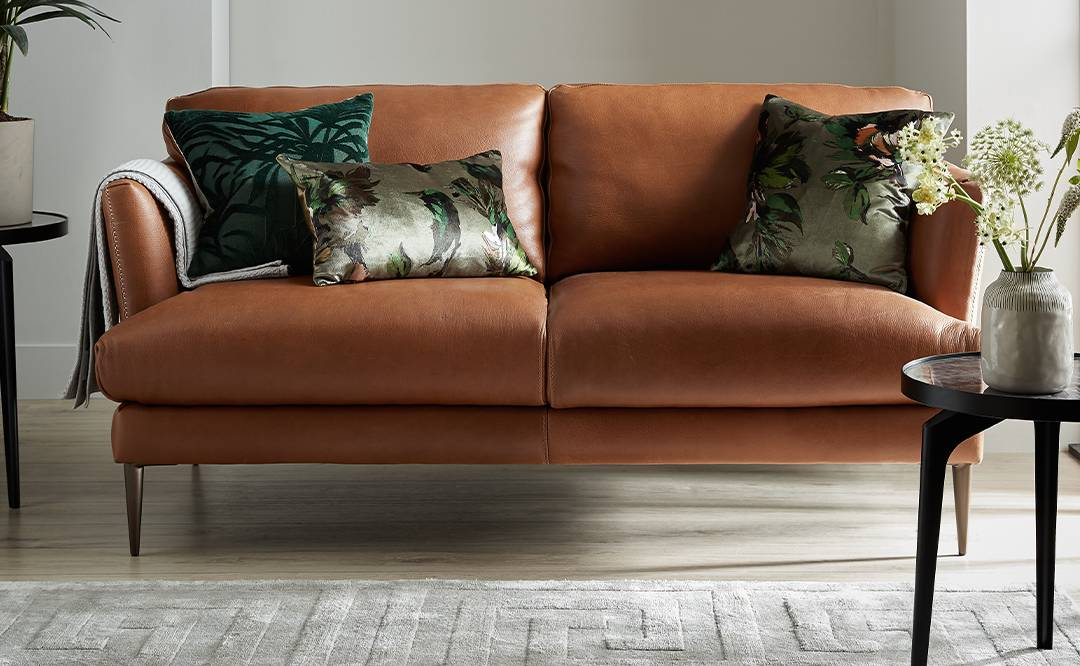Sofology leather sofa