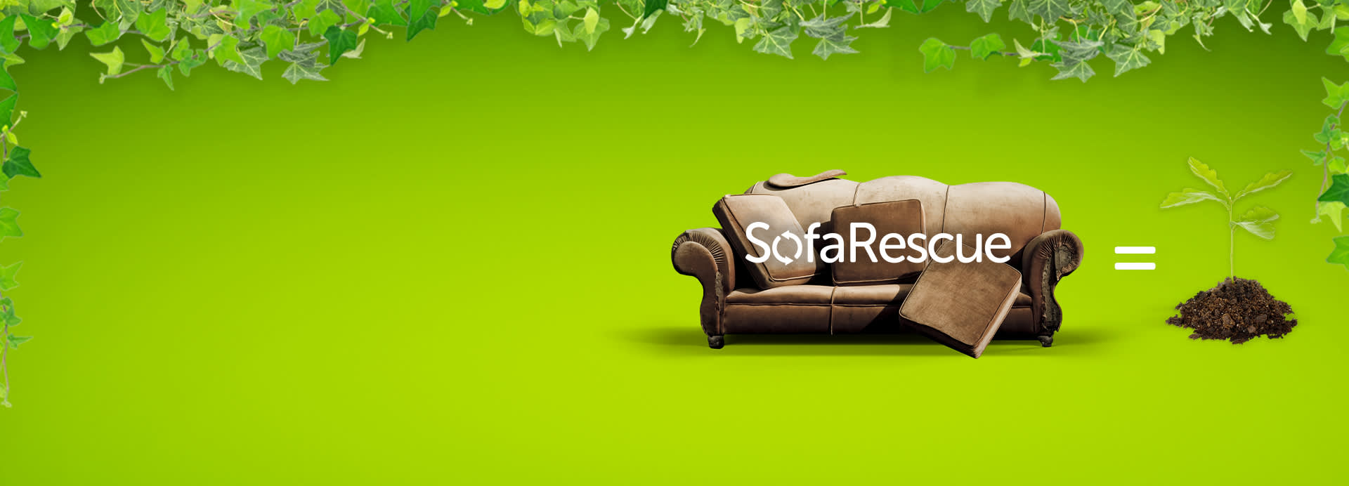 Sofa Rescue and Plan Tree Offer