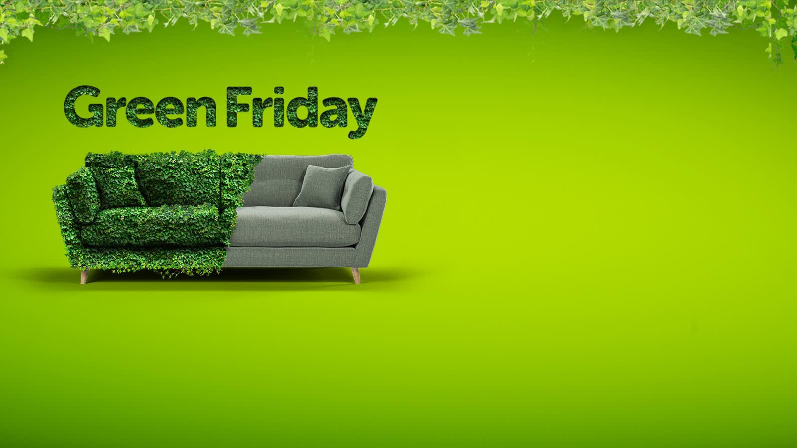 Green Friday at Sofology