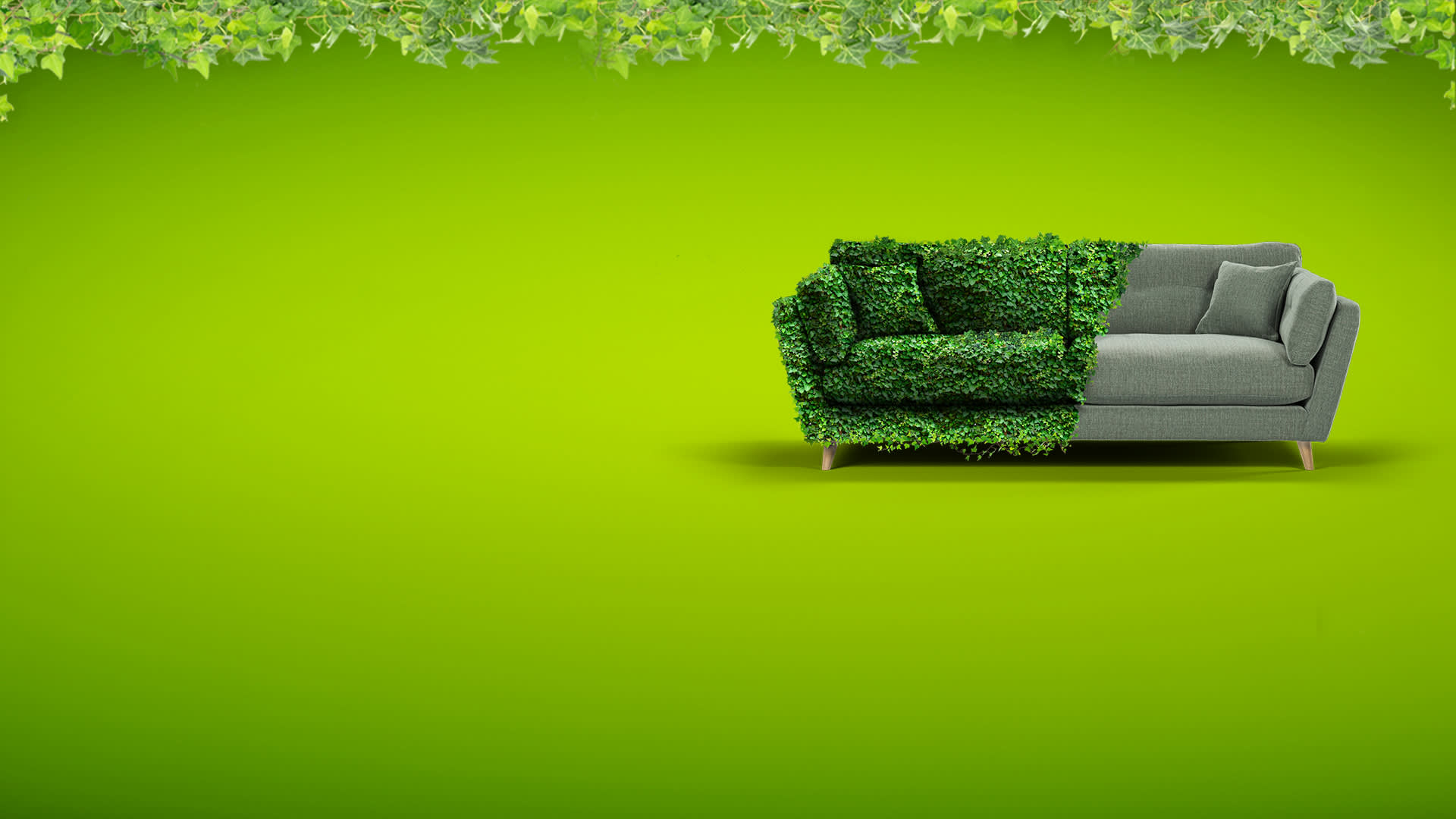 Green Friday at Sofology