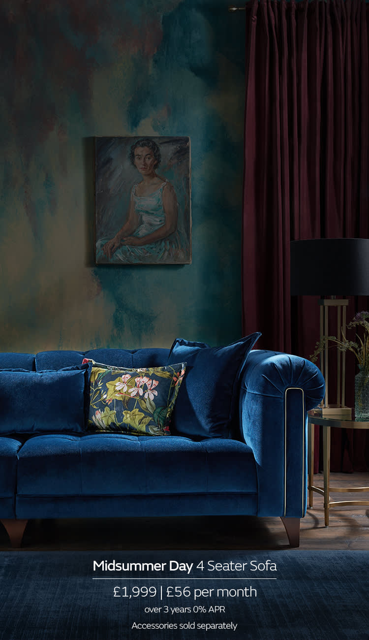 Sofology Midsummer Chesterfield Sofa