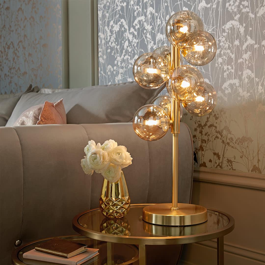 Lulu bubble table lamp