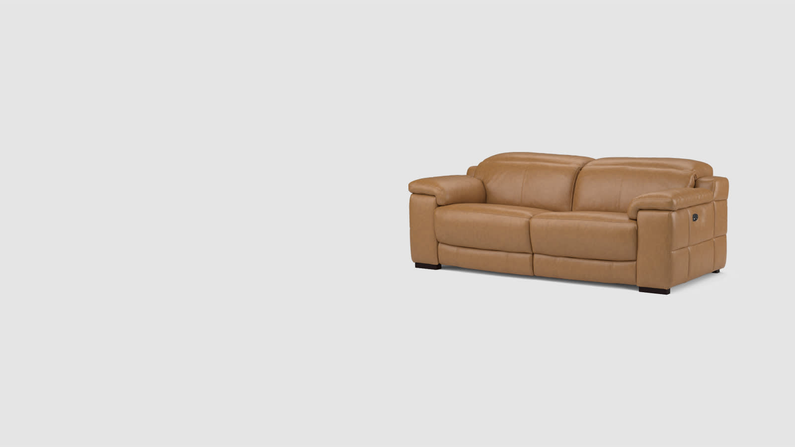 Sofology Laurence leather sofa