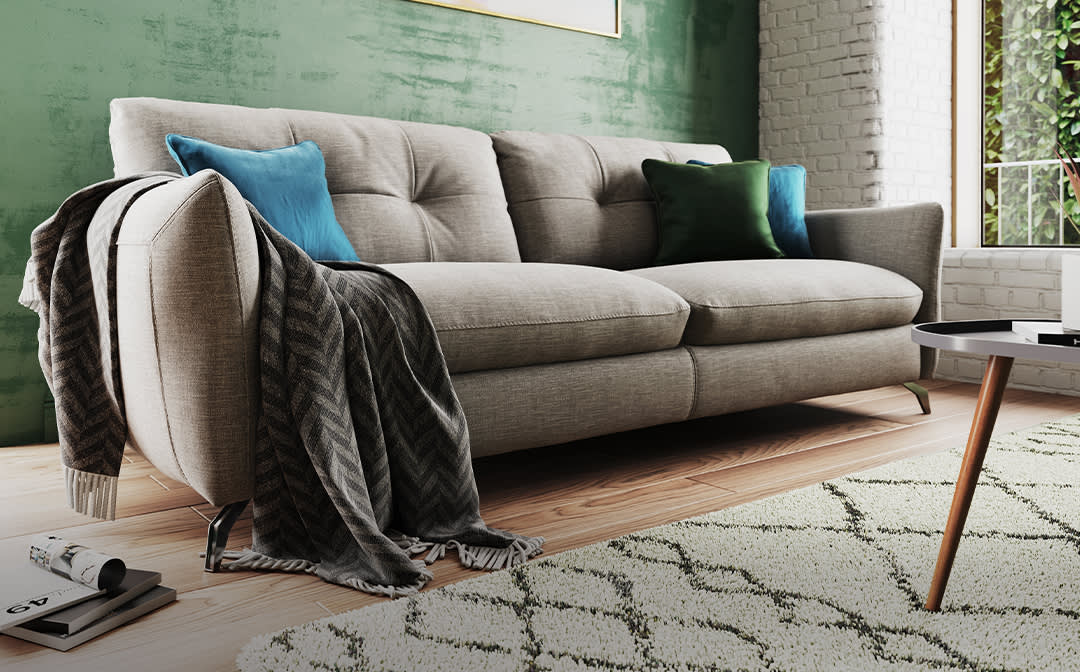 Sofology Mimi Special Buy grey fabric sofa