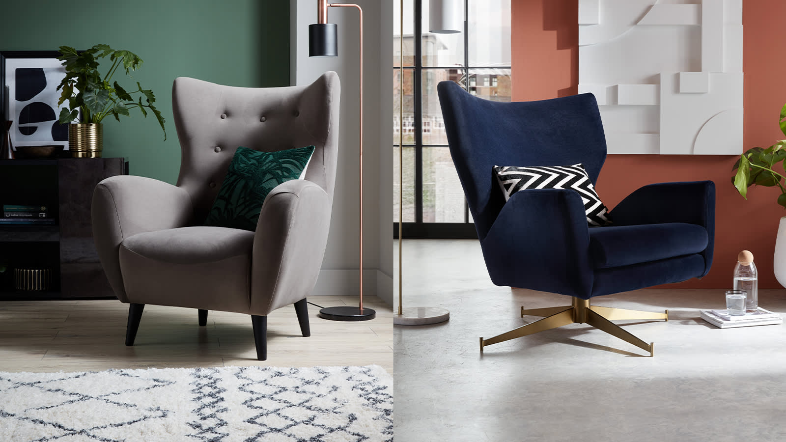 Sofology accent chairs