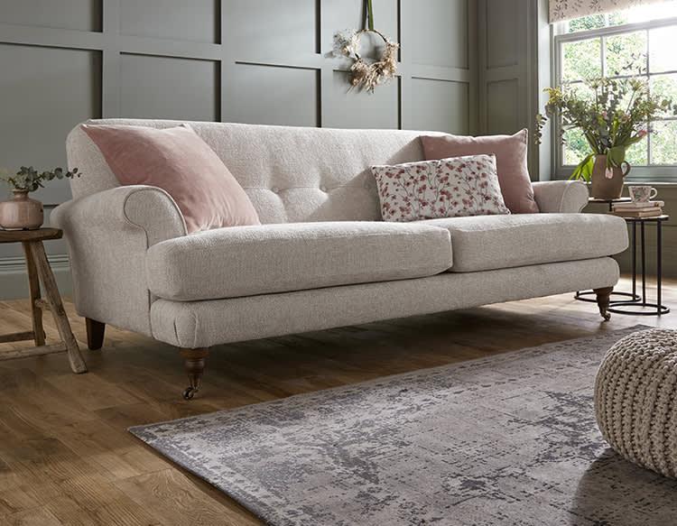 Sofology Freesia Fabric Sofa