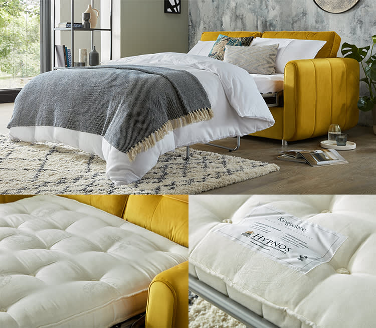 Sofology sofa bed with Hypnos mattress