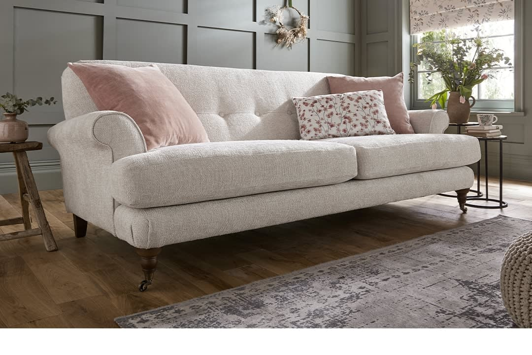 Sofology Freesia fabric sofa