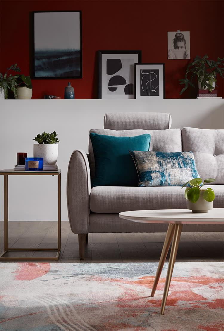 Modern Scandi living room design