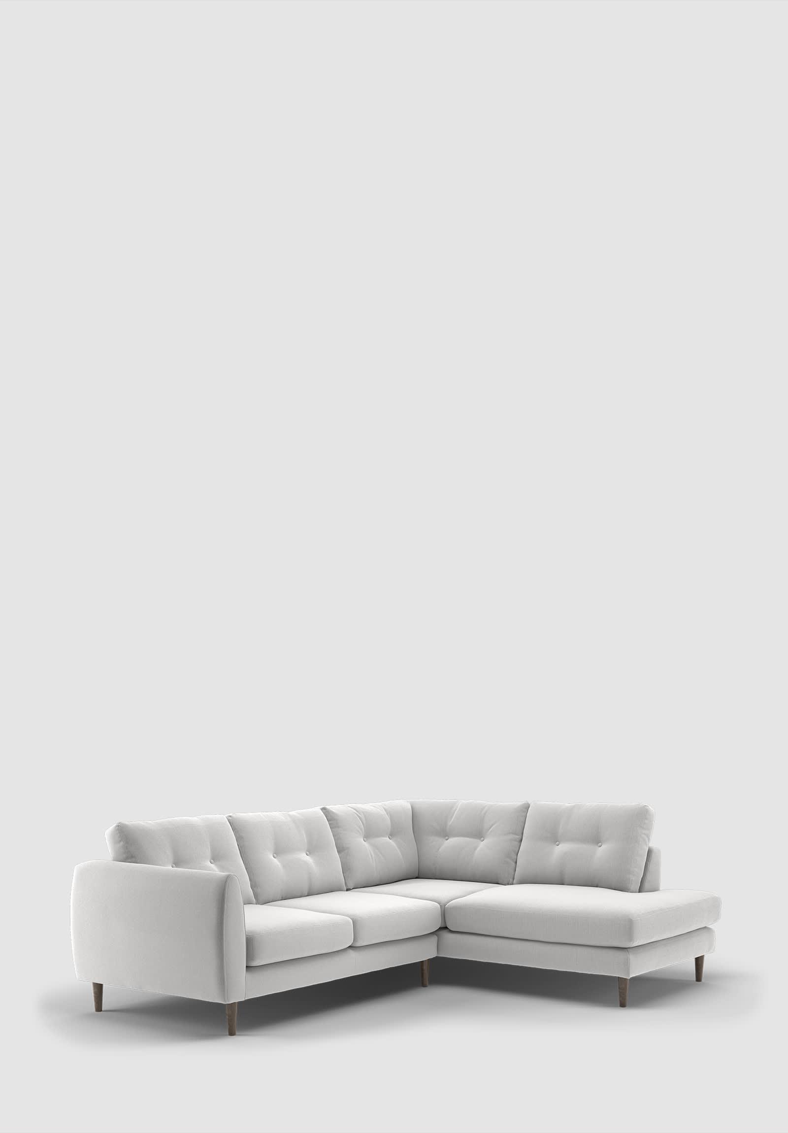 Sofology Finchley grey corner sofa
