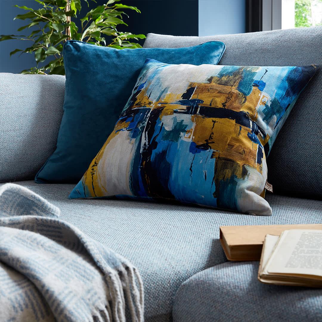 Solas & Bellini Blue Scatter Cushions