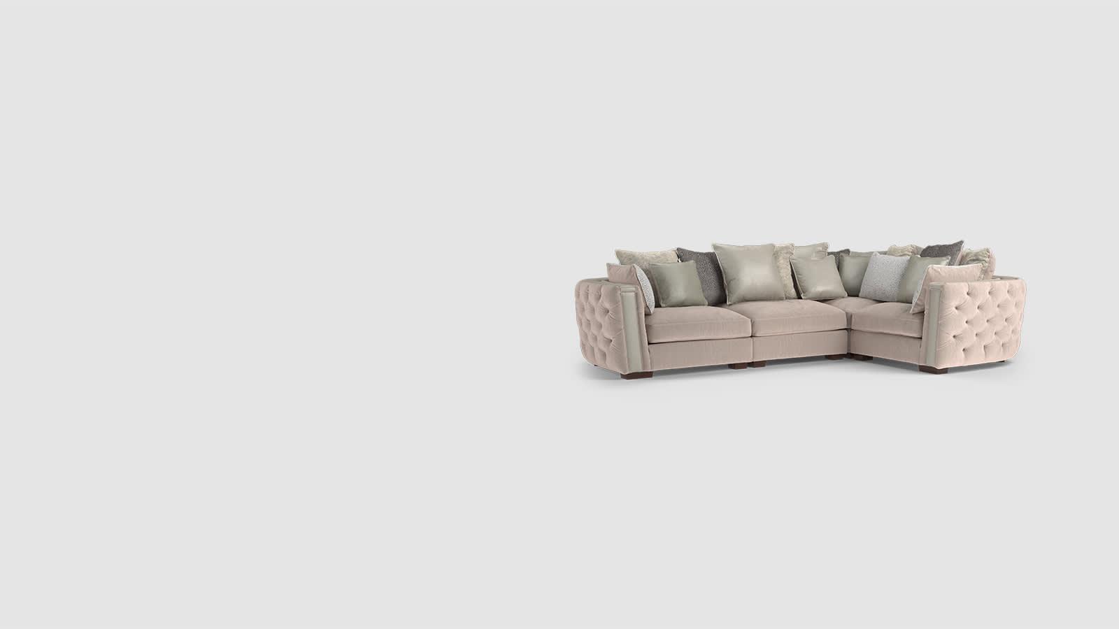 Sofology boodles corner sofa