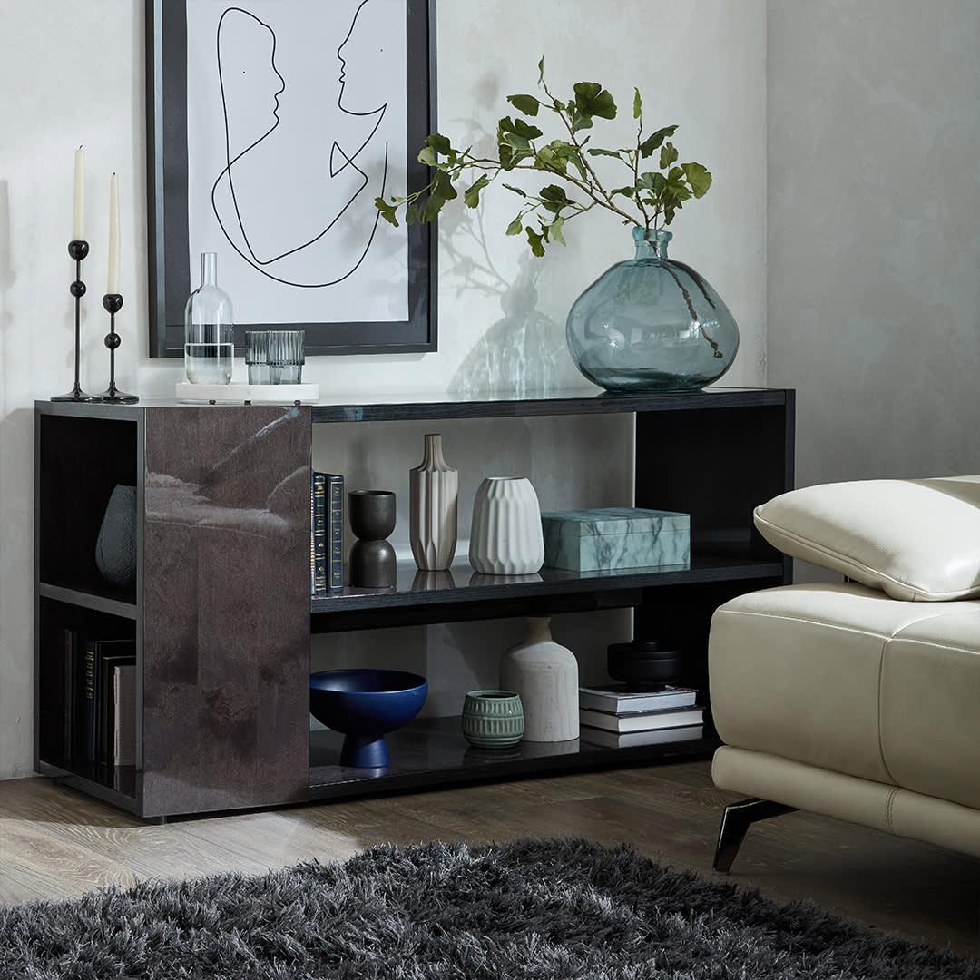 The Eboni Sofa Table