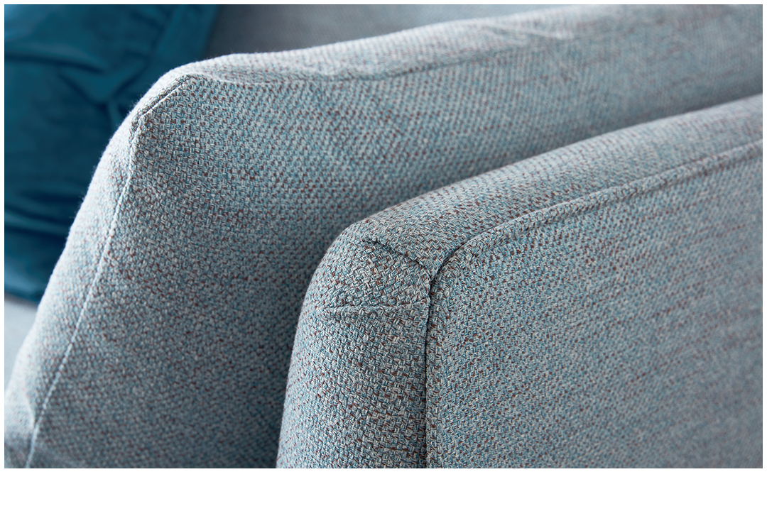Woven fabric sofas