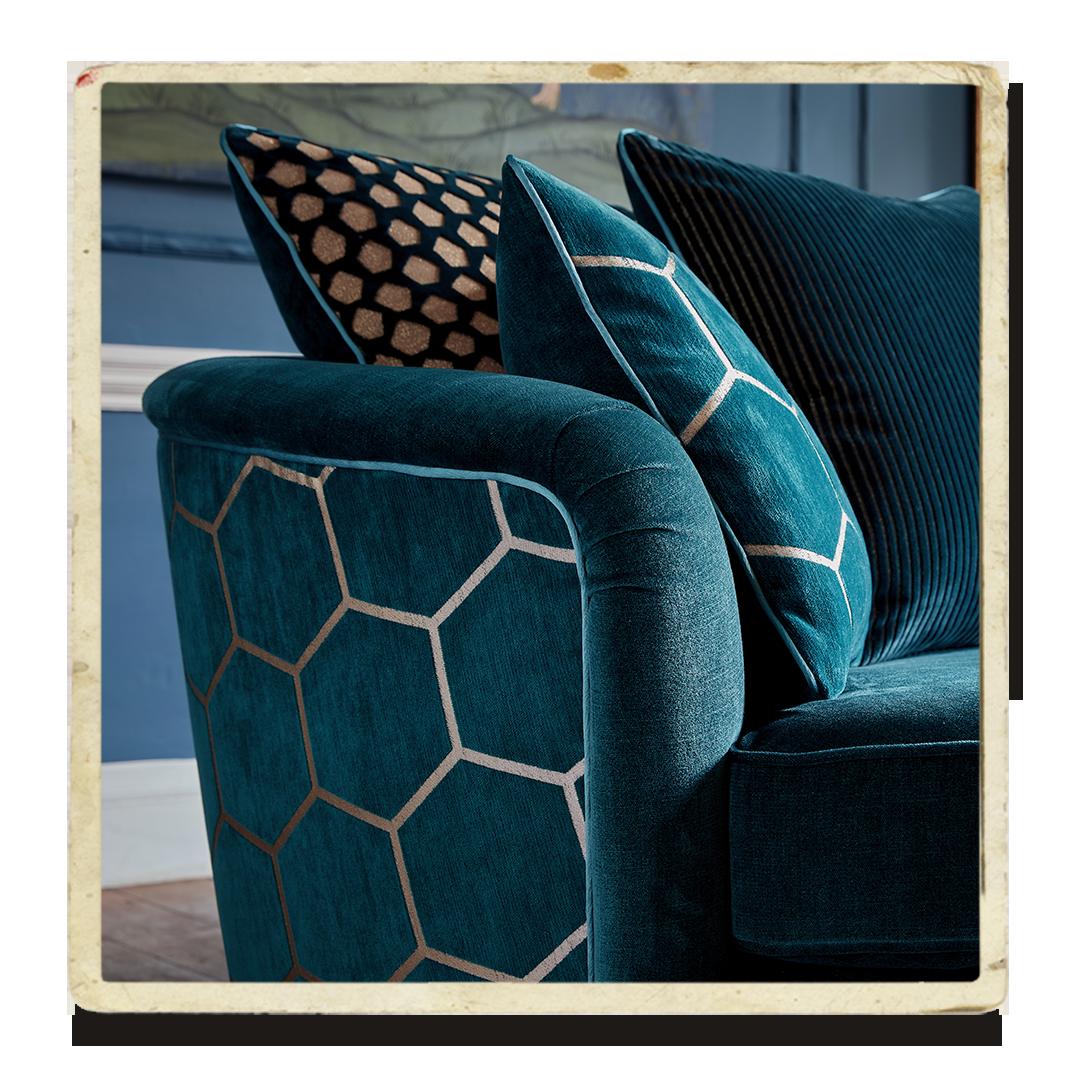 Honeycomb sofa