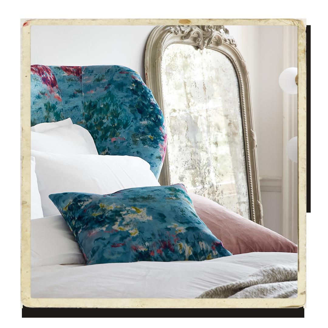 Secret garden floral bed