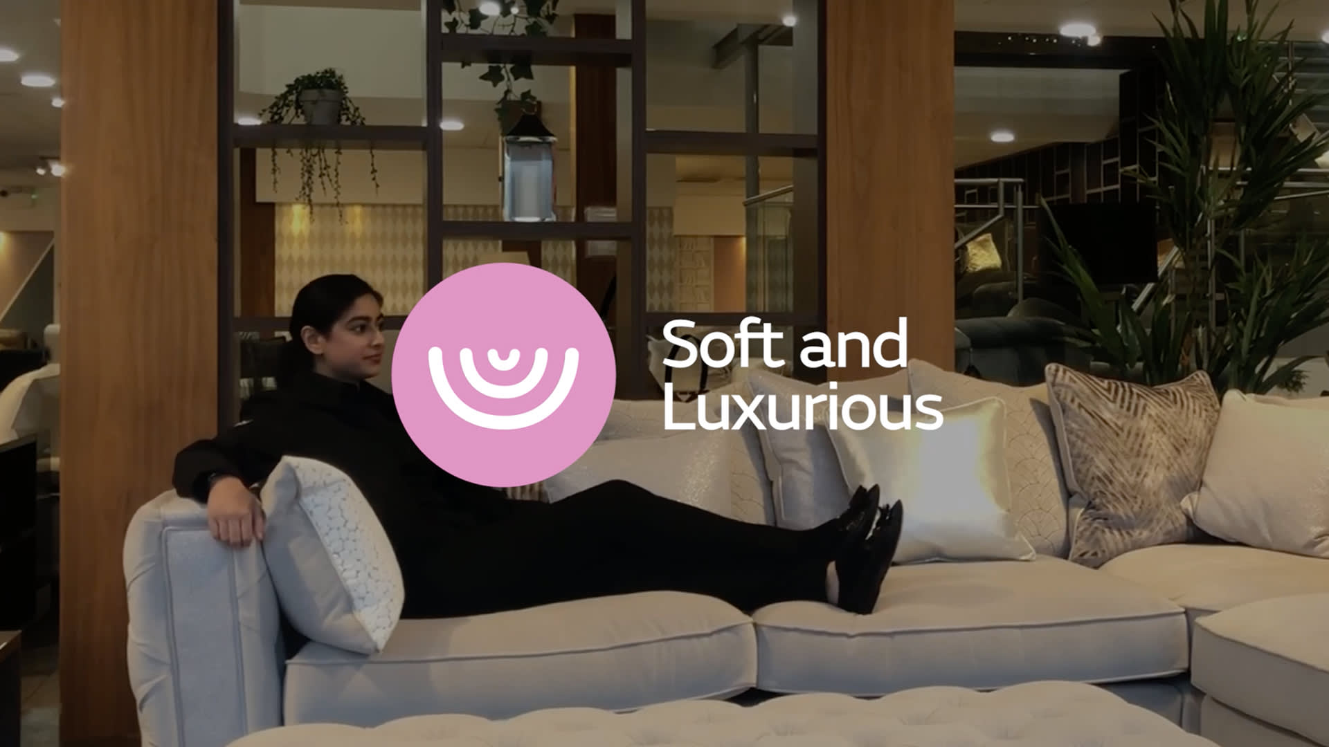 Boodles soft and luxurious sofa