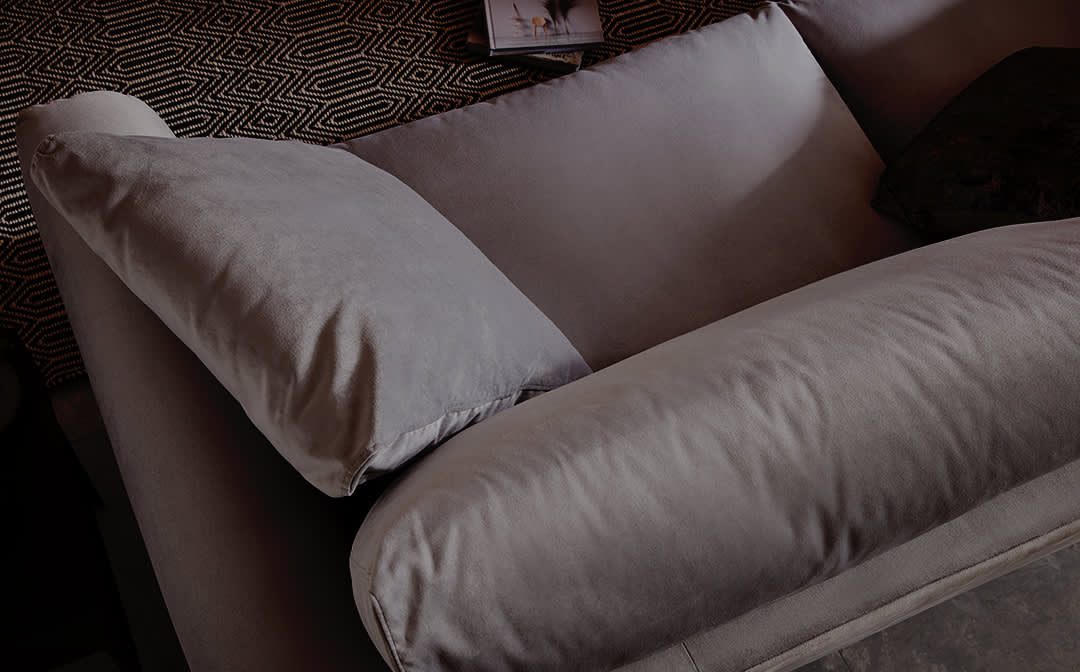 Vision sofa with removable covers