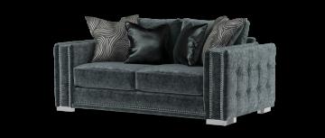 midas уголь / серый mix 2 местный диван