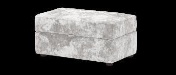 fairmont fairmont silver mix Storage Footstool