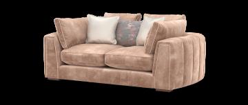 император Люцерн шампанское микс 2,5 местный диван