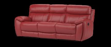 Рэдли Ле-Ман красный 3 местный диван