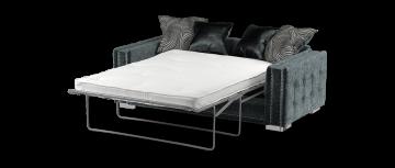 midas древесный уголь / серый mix 3 местный роскошный диван-кровать