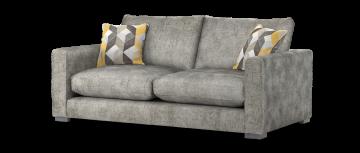 majestic majestic plain трюфель желтый mix 3 местный диван